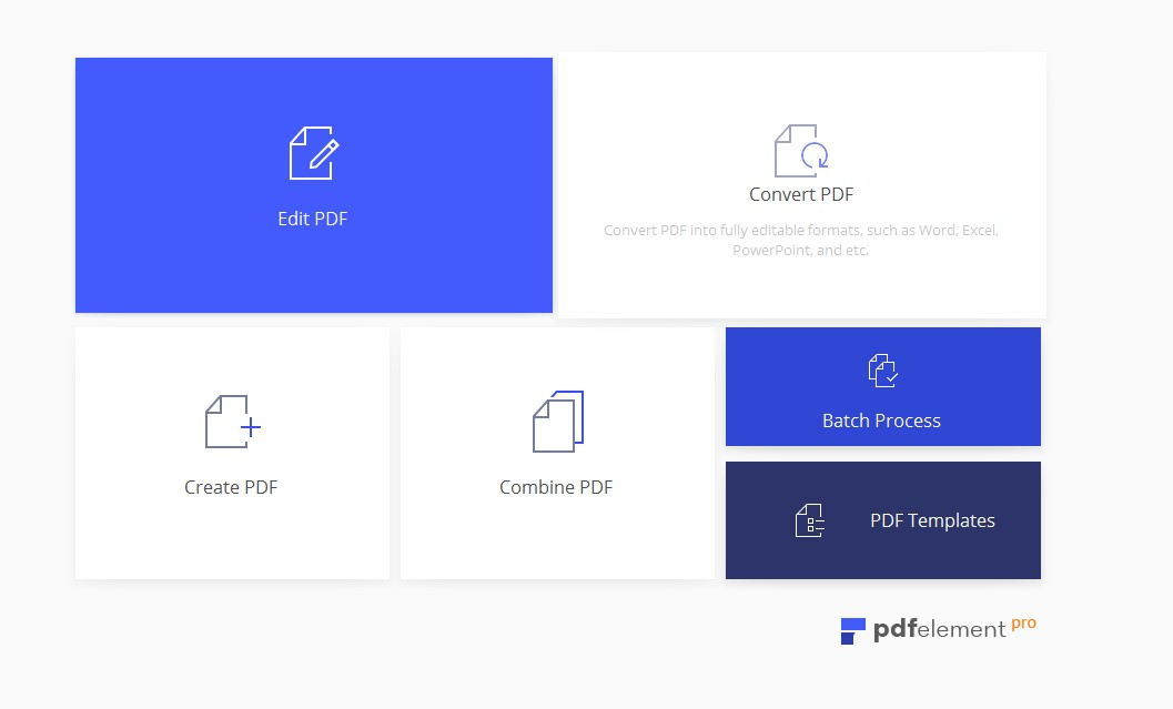 A new interface makes PDFelement 6 Pro for Mac easier to use.
