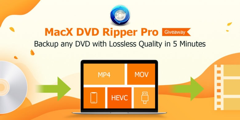 You have until December 10 to score a free copy of the powerhouse app, MacX DVD Ripper.