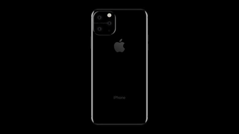 A leaked render shows the trio of camera leases that might be a highlight of the 2019 iPhone.