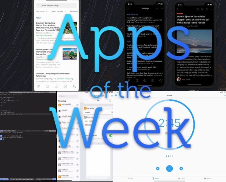 Check out this week's amazing apps, you lucky people.