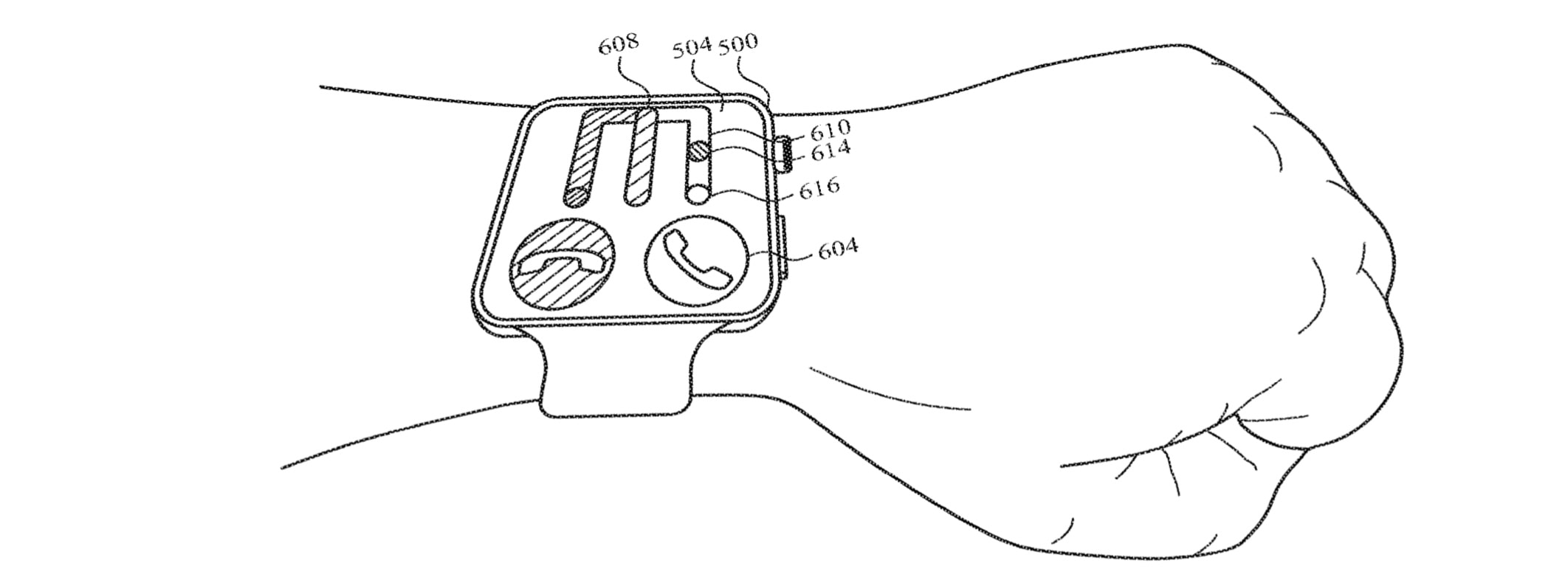 Proposed Apple Watch gesture system