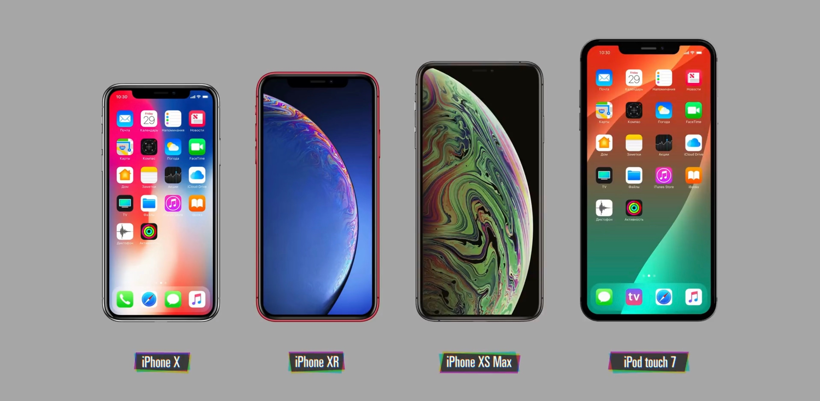This concept iPod touch 7 would be even bigger than the iPhone XS Max.