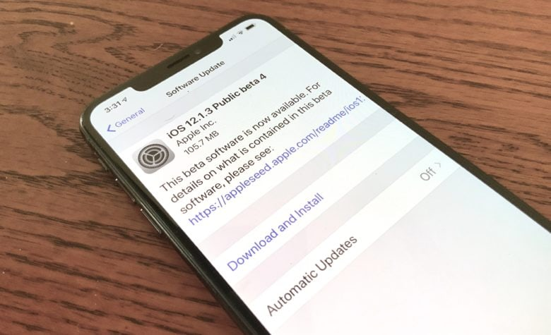 The fourth beta of iOS 12.1.3 doesn't offer much, but it's available to everyone.