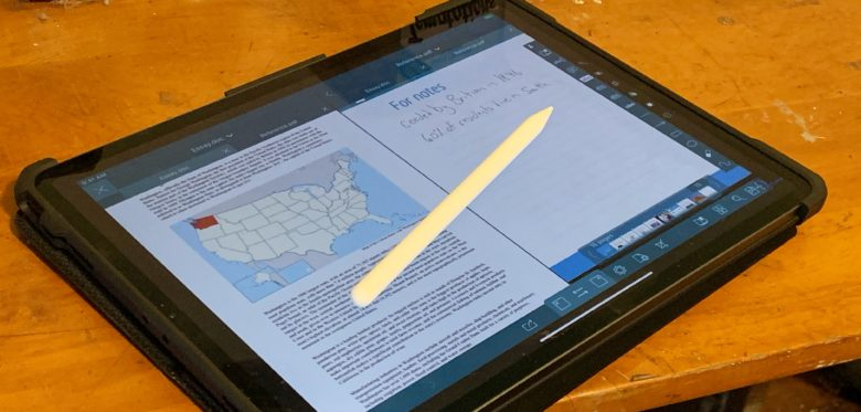 iPad users can view two documents side-by-side with GoodReader 5.