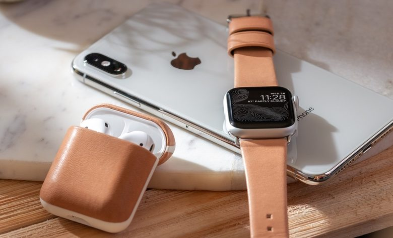 This is the original color of the Nomad Apple Watch Modern Strap and AirPods Rugged Case.