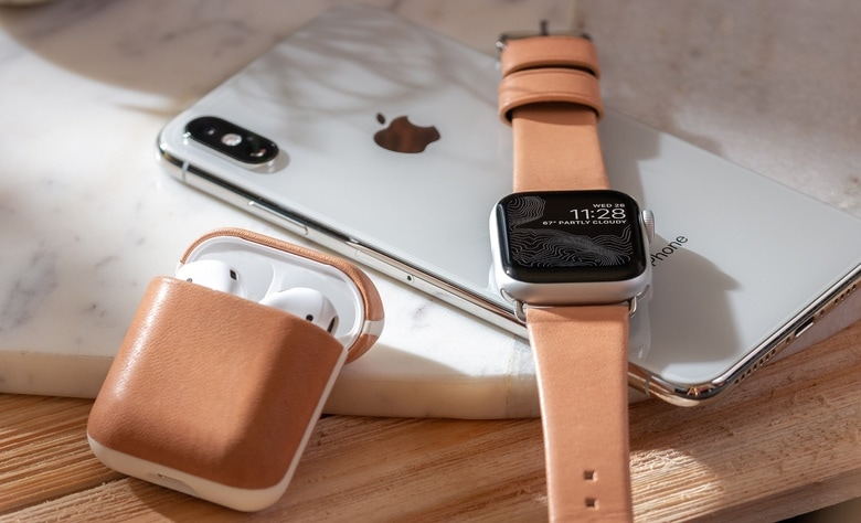 Nomad's New Leather Apple Accessories will Only Look Better with Time