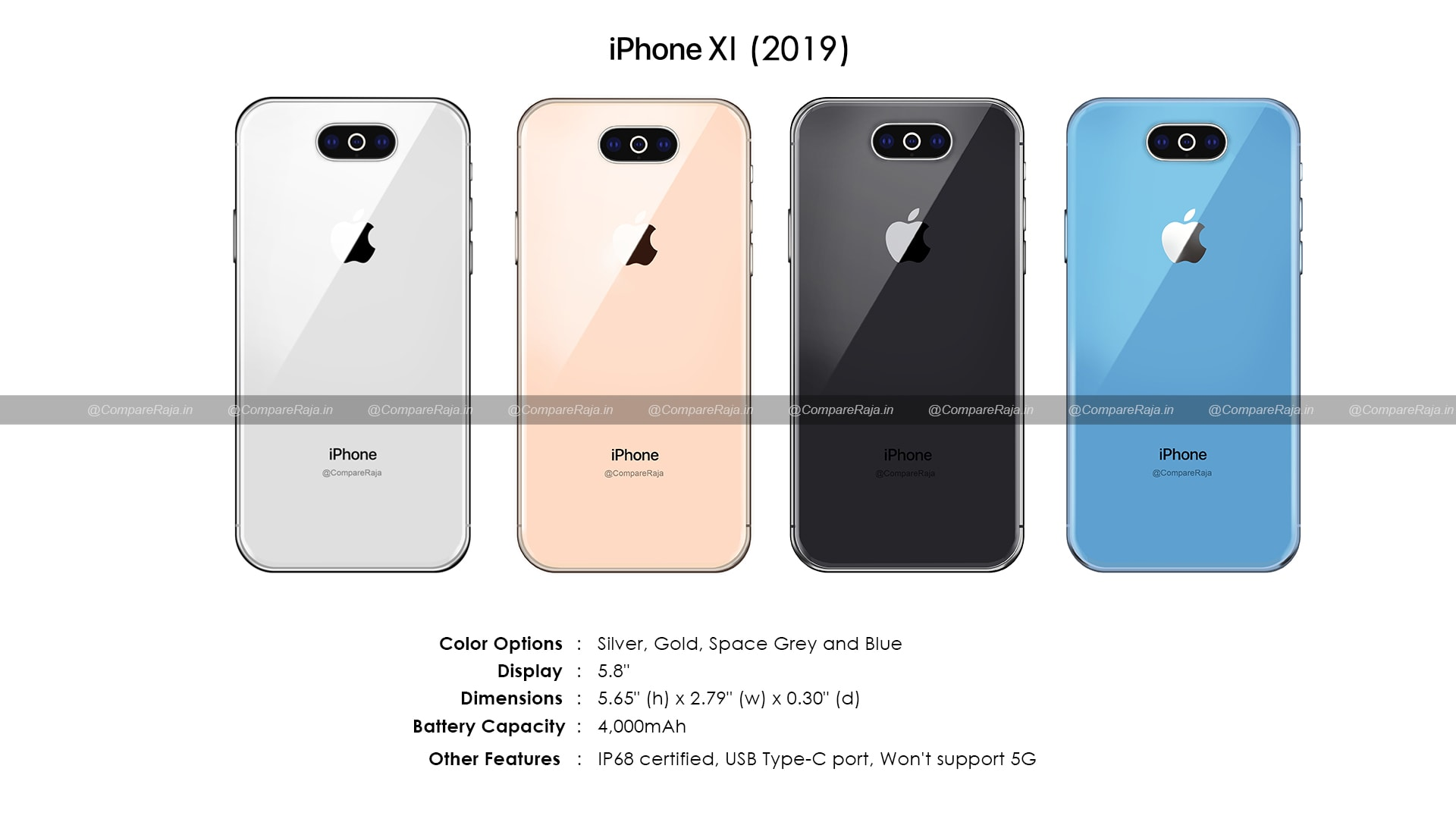 iPhone XI render