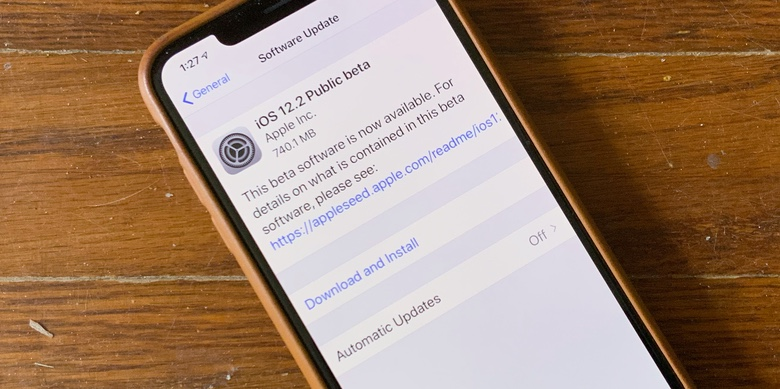 iOS 12.2 public beta 1 is more than just a collection of bug fixes.