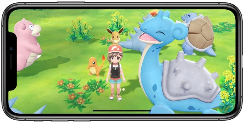 Pokémon on iPhone