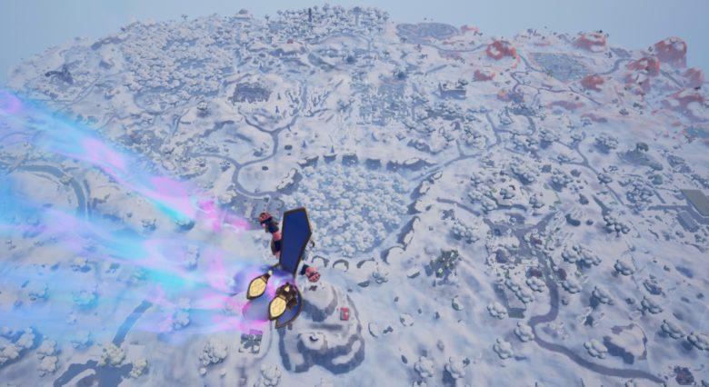 Fortnite snow