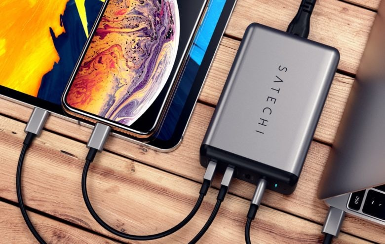 The Satechi 75W Dual Type-C PD Travel Charger has ports for all your gadgets.