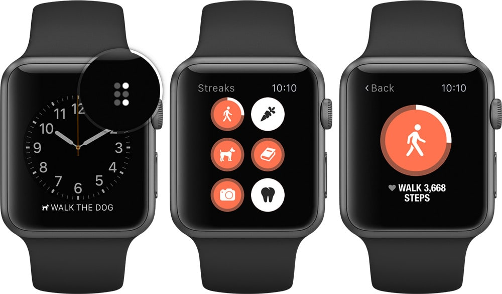 The Apple Watch will remind you to get moving.