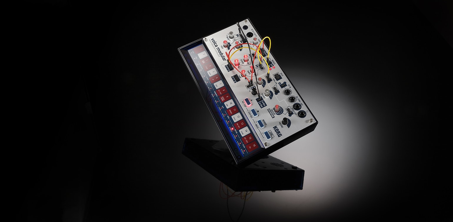 The Korg Volca Modular is fun and intimidating at the same time — just like your first beer.