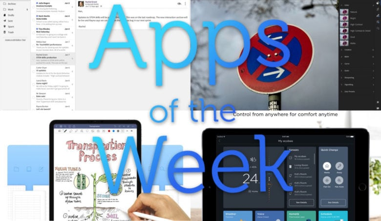 We have a feast of apps for your this week.