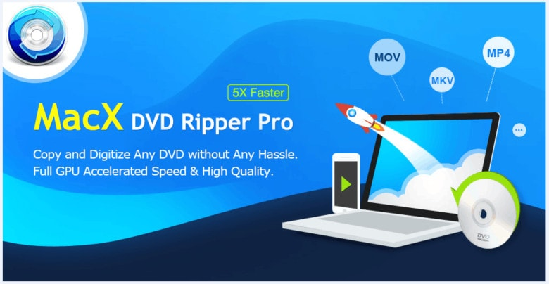 With MacX DVD Ripper Pro, your old DVDs don't need to languish.