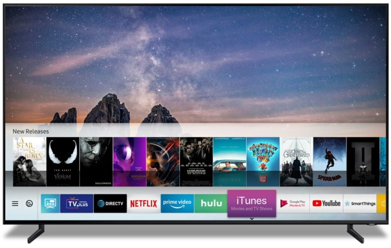 iTunes video and AirPlay 2 coming to Samsung's Smart TVs