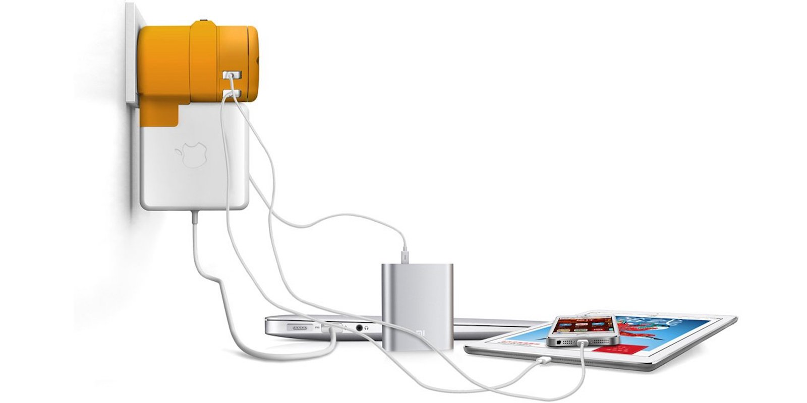 With one compact international charging hub, you can revive up to 5 devices anywhere in the world.