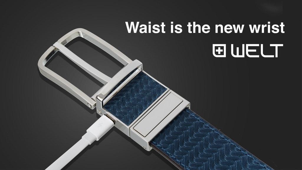 Welt Smart Belt is like an Apple Watch for your Waist