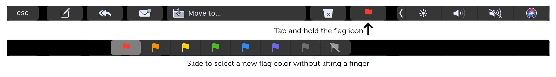 Dale a tu correo la bandera amarilla
