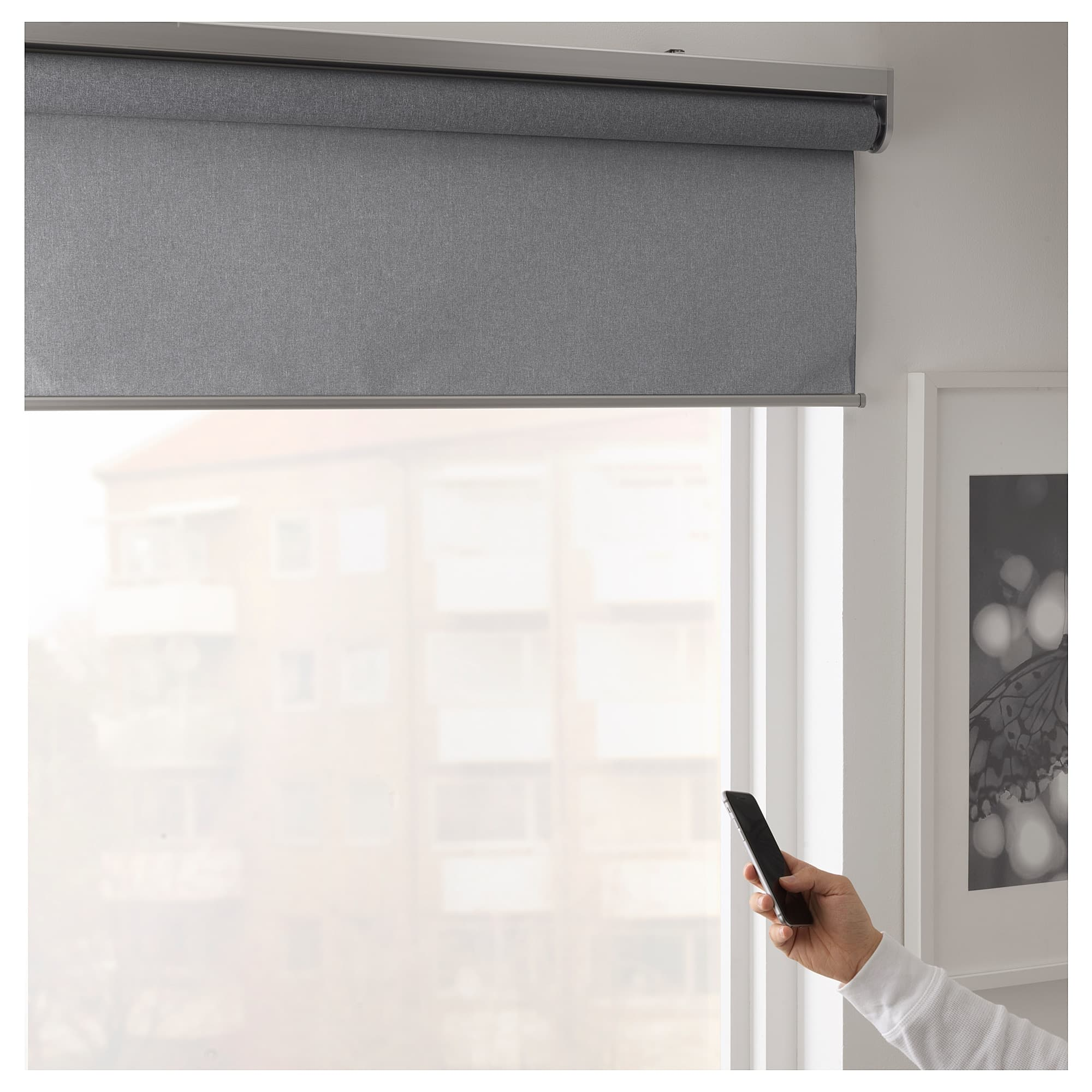 Ikea's new blinds work with your iPhone via homekit.