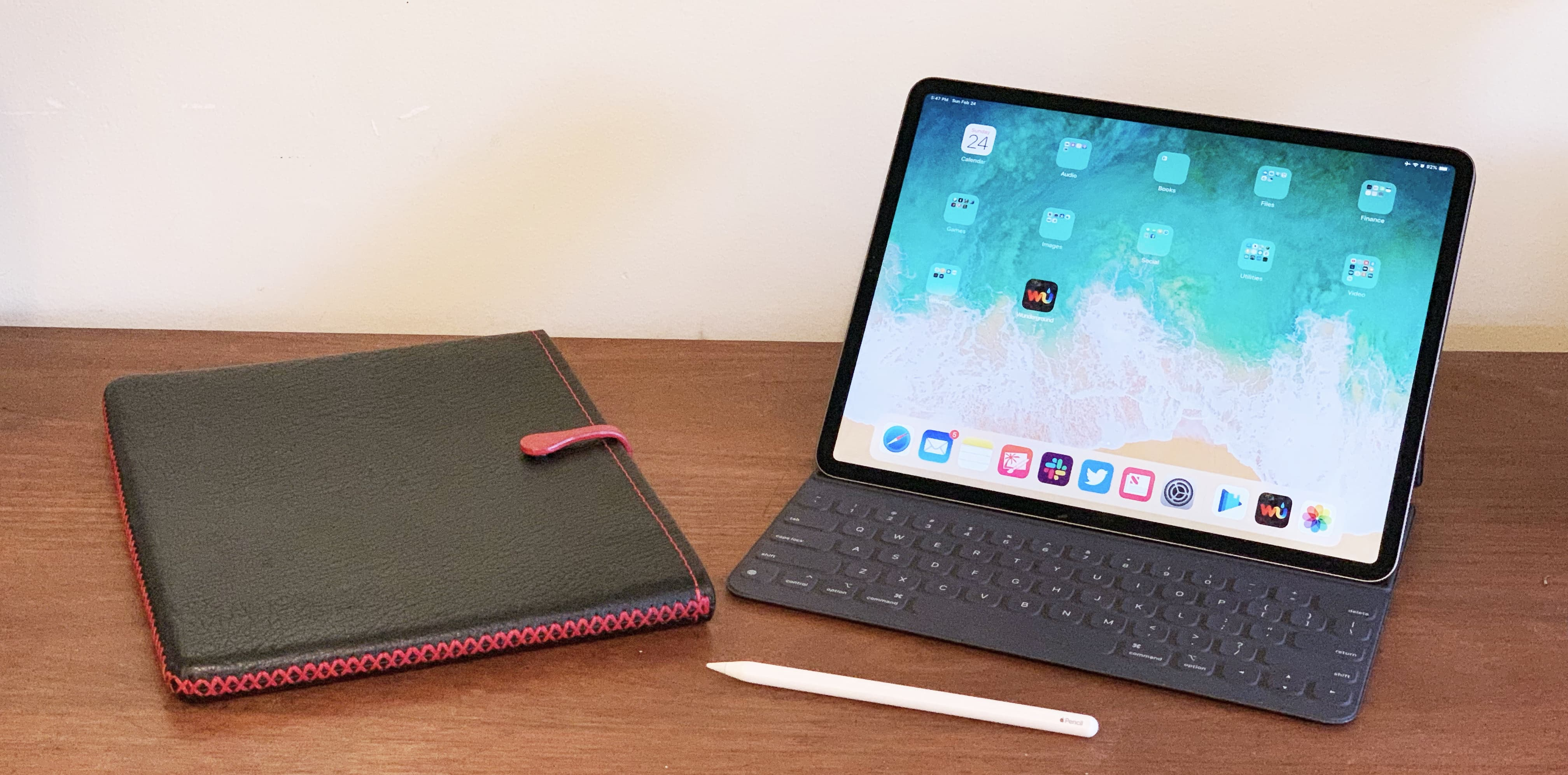 Protect your iPad Pro in style with a leather sleeve from Picaso Lab.
