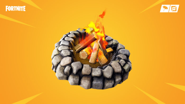 Fortnite's latest update brings bottle rockets and campfires