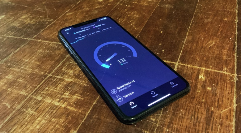 Speedtest will show you that 4G LTE service in the US is often quite slow.