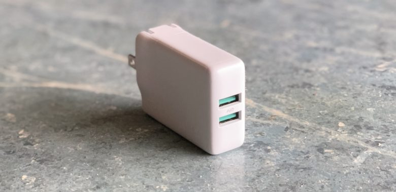 Aukey 24W Dual Port Wall Charger review