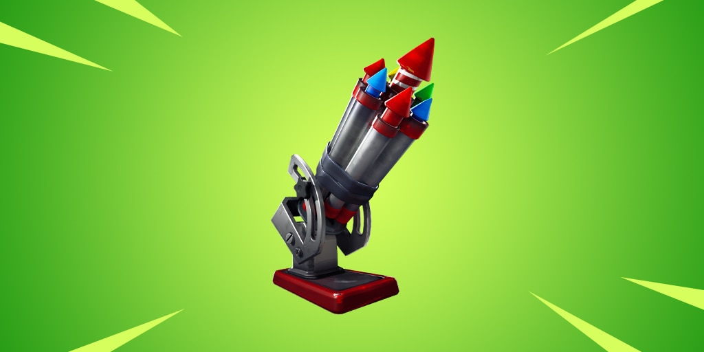 Fortnite battle rockets