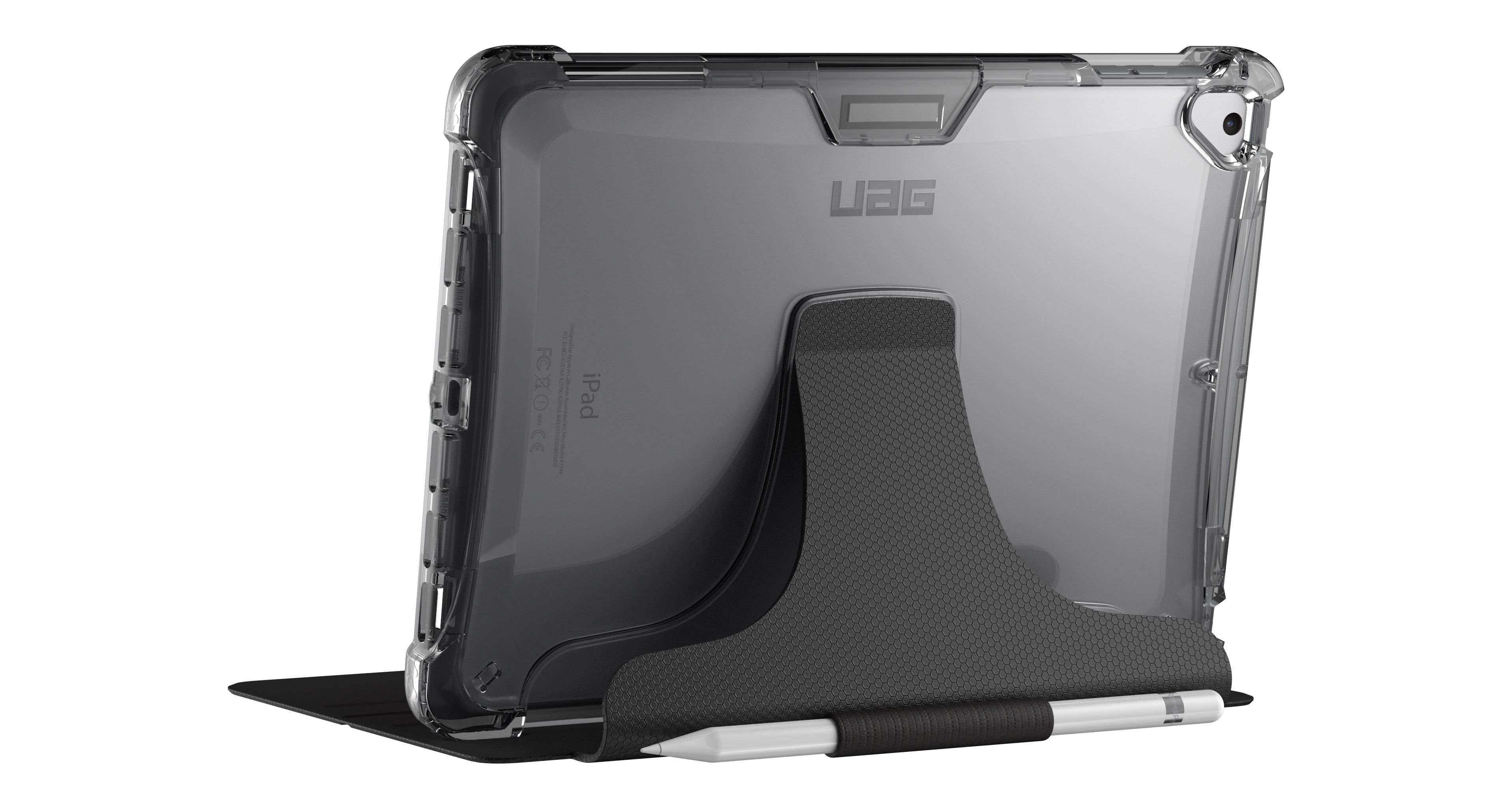 Despite being semi-transparent, UAG's Plyo Series meets military drop-test standards.