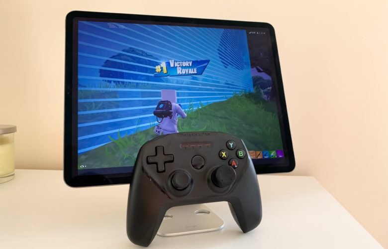 Fortnite on iPad with SteelSeries Nimbus