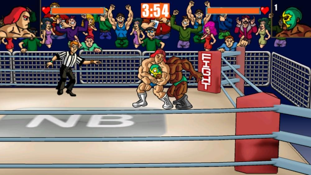 Slam Masters Brings 1980s Wrasslin' Action to the App Store