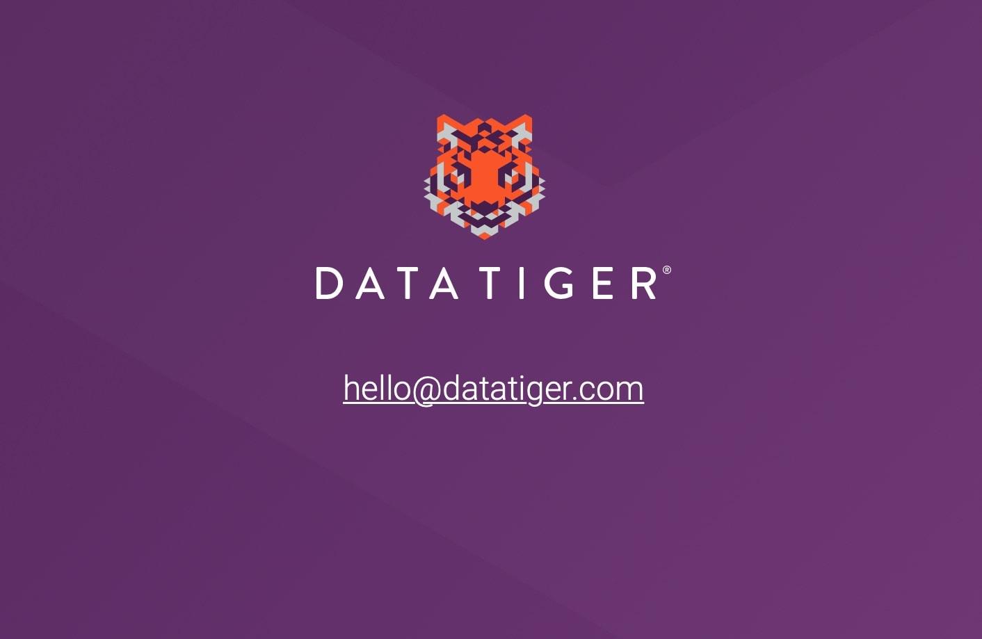 DataTiger 2