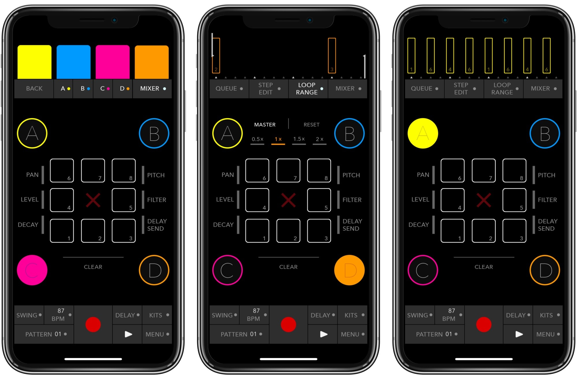 Triqtraq jam sequencer is simple yet deep.
