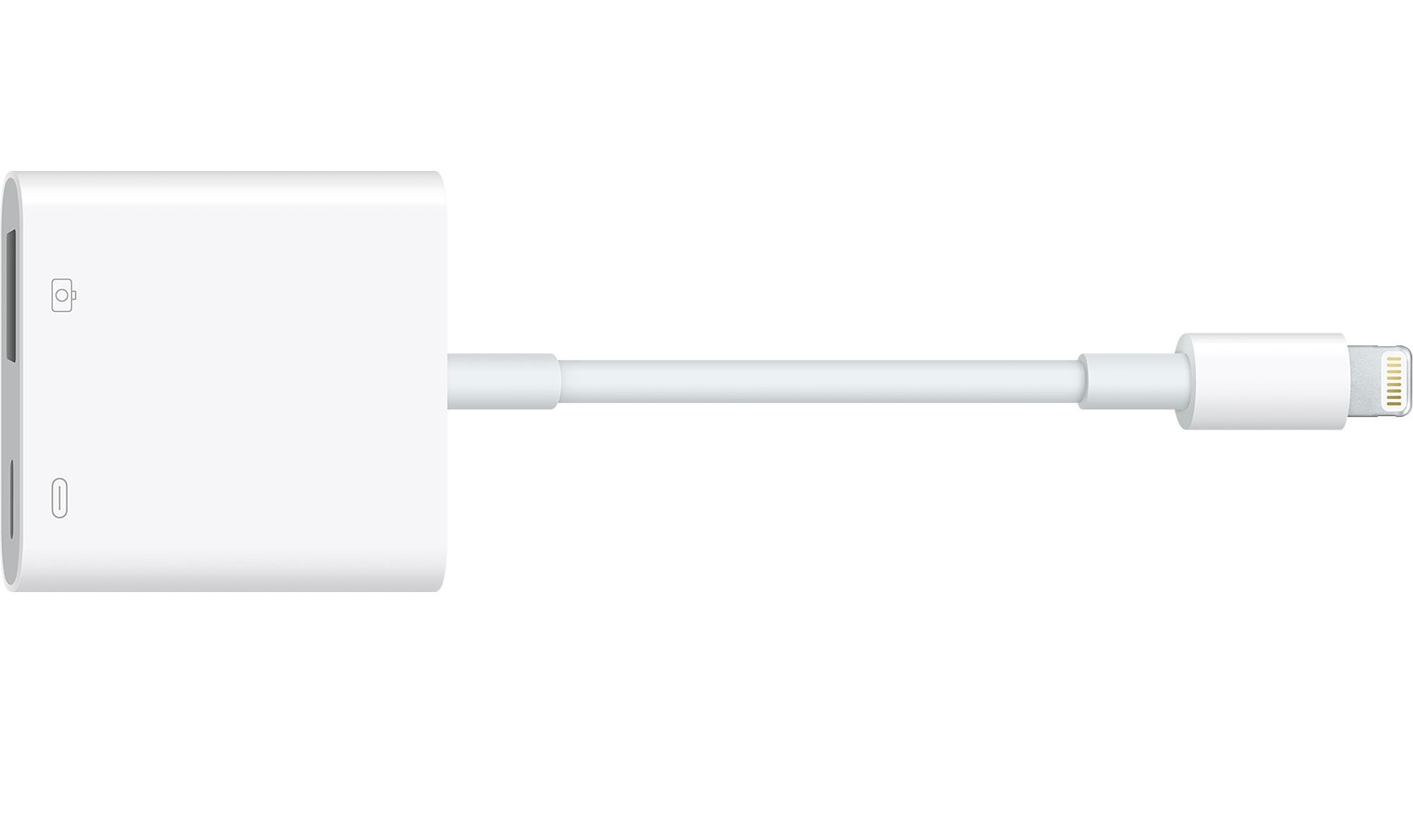 The Apple Lightning to USB 3 Camera Adapter costs almost $40.