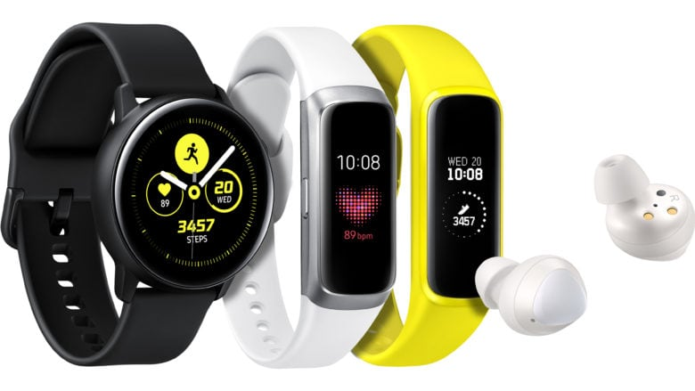 While Galaxy Watch Active functions more like Apple Watch, Galaxy Fit looks more like a straight-up fitness tracker.