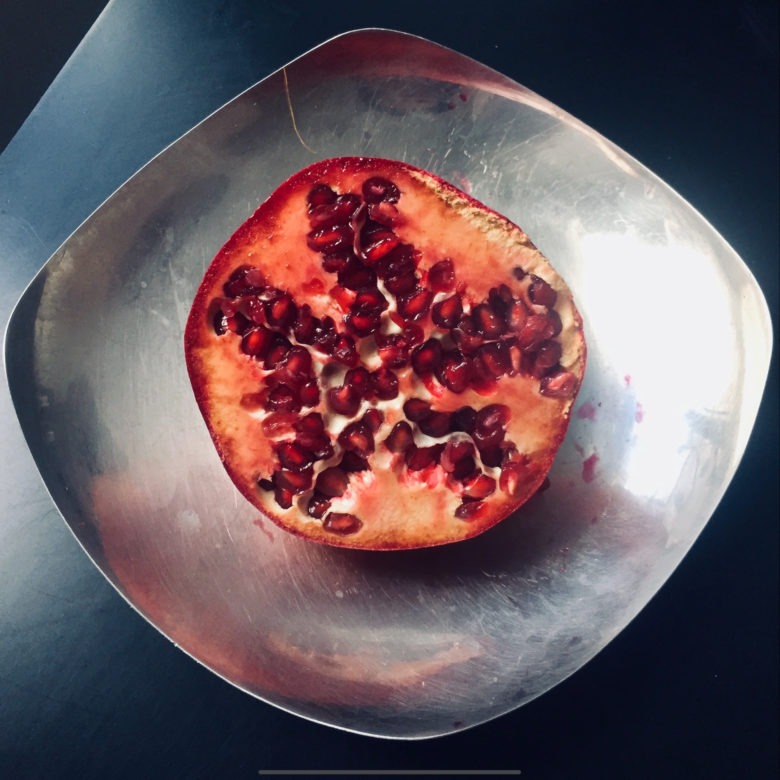 Punchy pomegranate, no auto-enhance required.