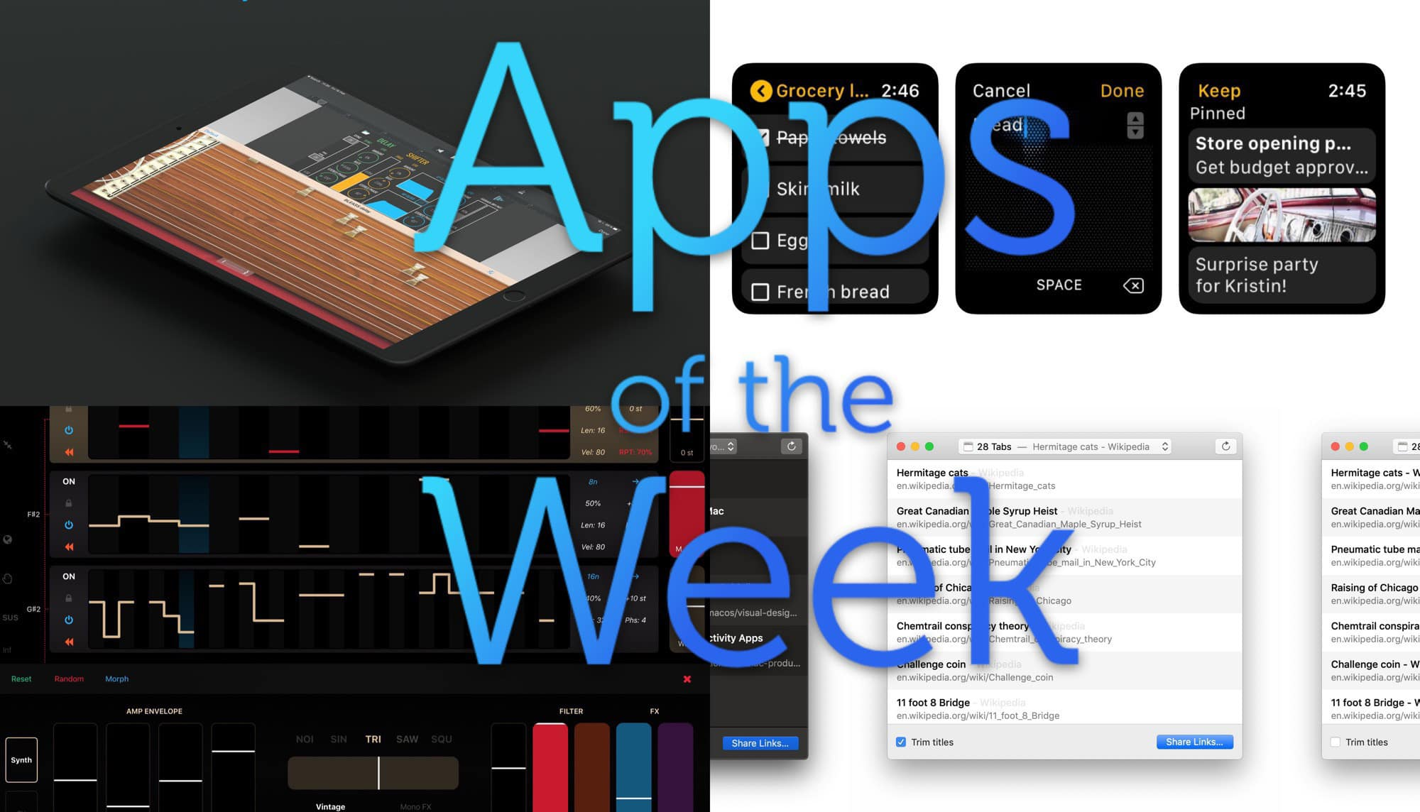 Check out this week's bevy of awesomeness in our app roundup.