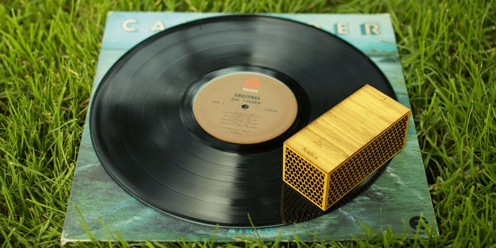 This impossible seeming device is the most unusual and portable record player you'll find.