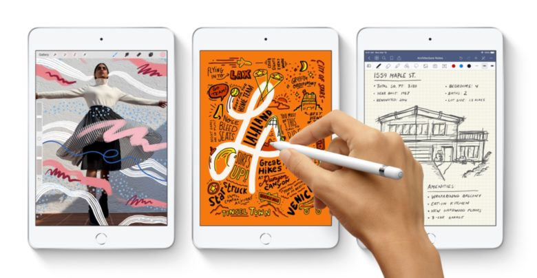 The newest iPad mini supports the first-gen Apple Pencil, not the newer version of this stylus.
