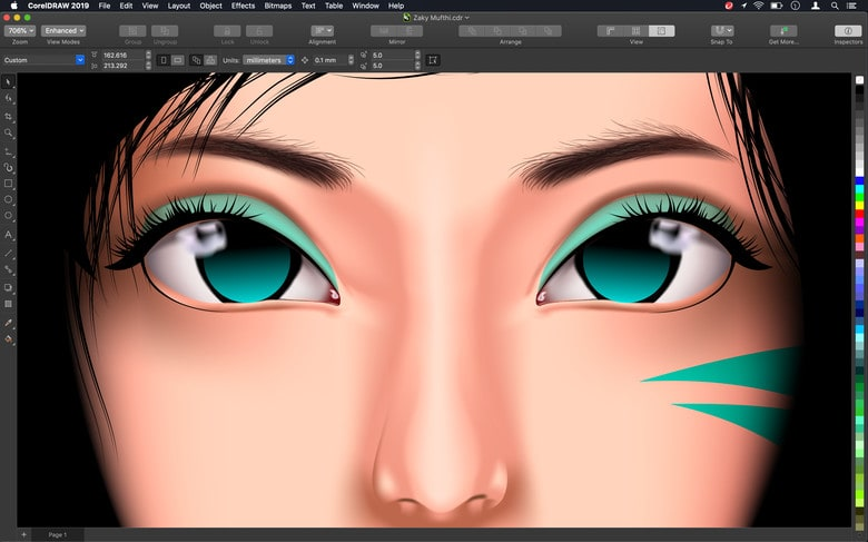 CorelDRAW Graphics Suite 2019 was designed specifically for macOS.