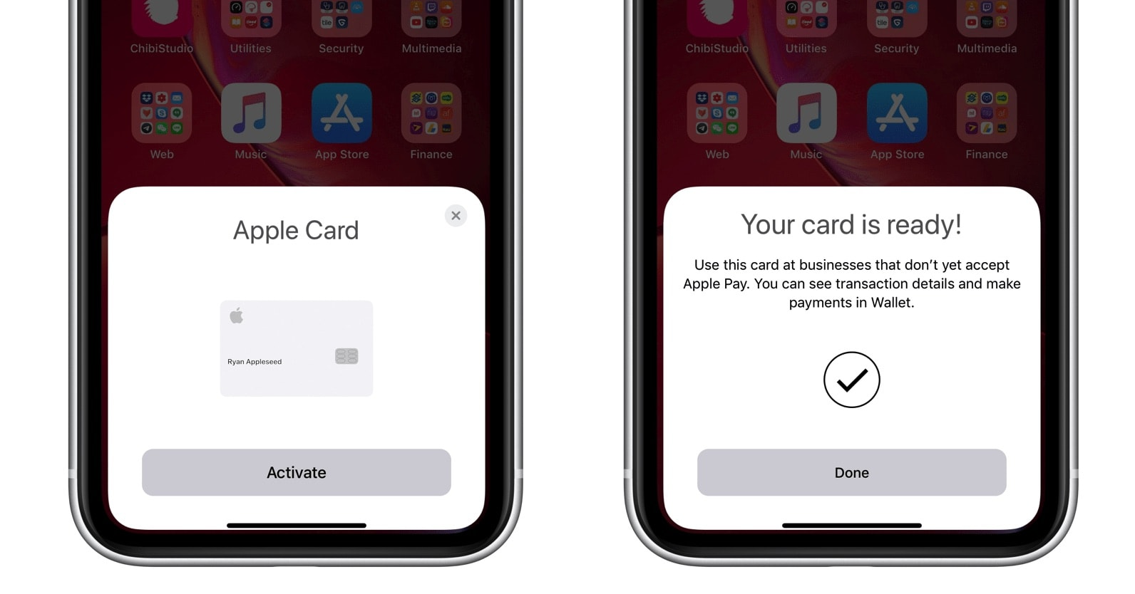 Apple Card activation 2