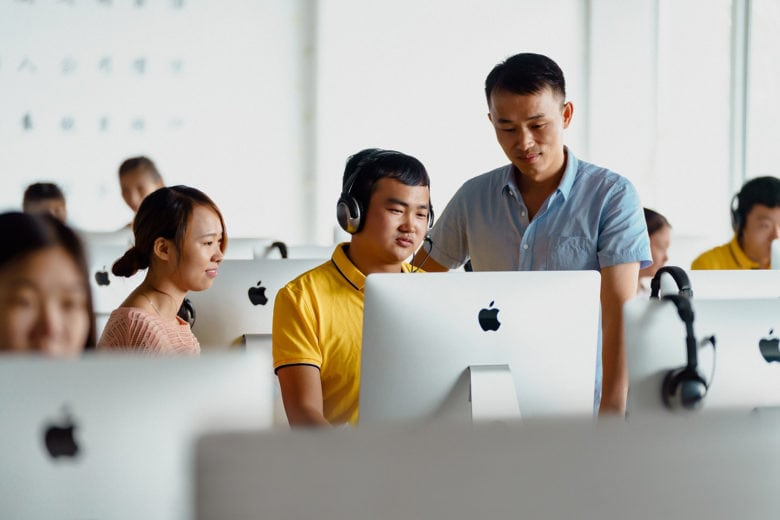 Apple gives supply chain workers access to coding classes.