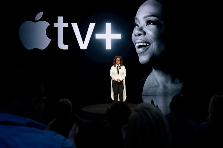 Oprah Winfrey says Apple TV+ can have a genuine impact on humanity.