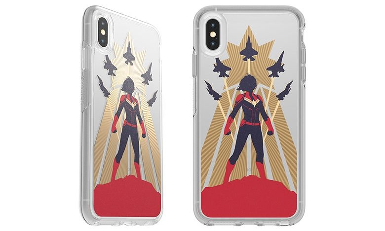 Go Higher Further Faster with a Captain Marvel iPhone case.