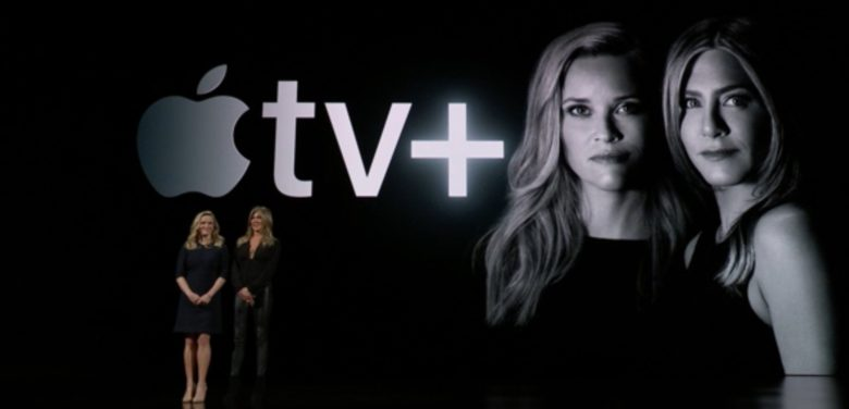 Jennifer Anniston and Reese Witherspoon announce their show for Apple TV Plus.