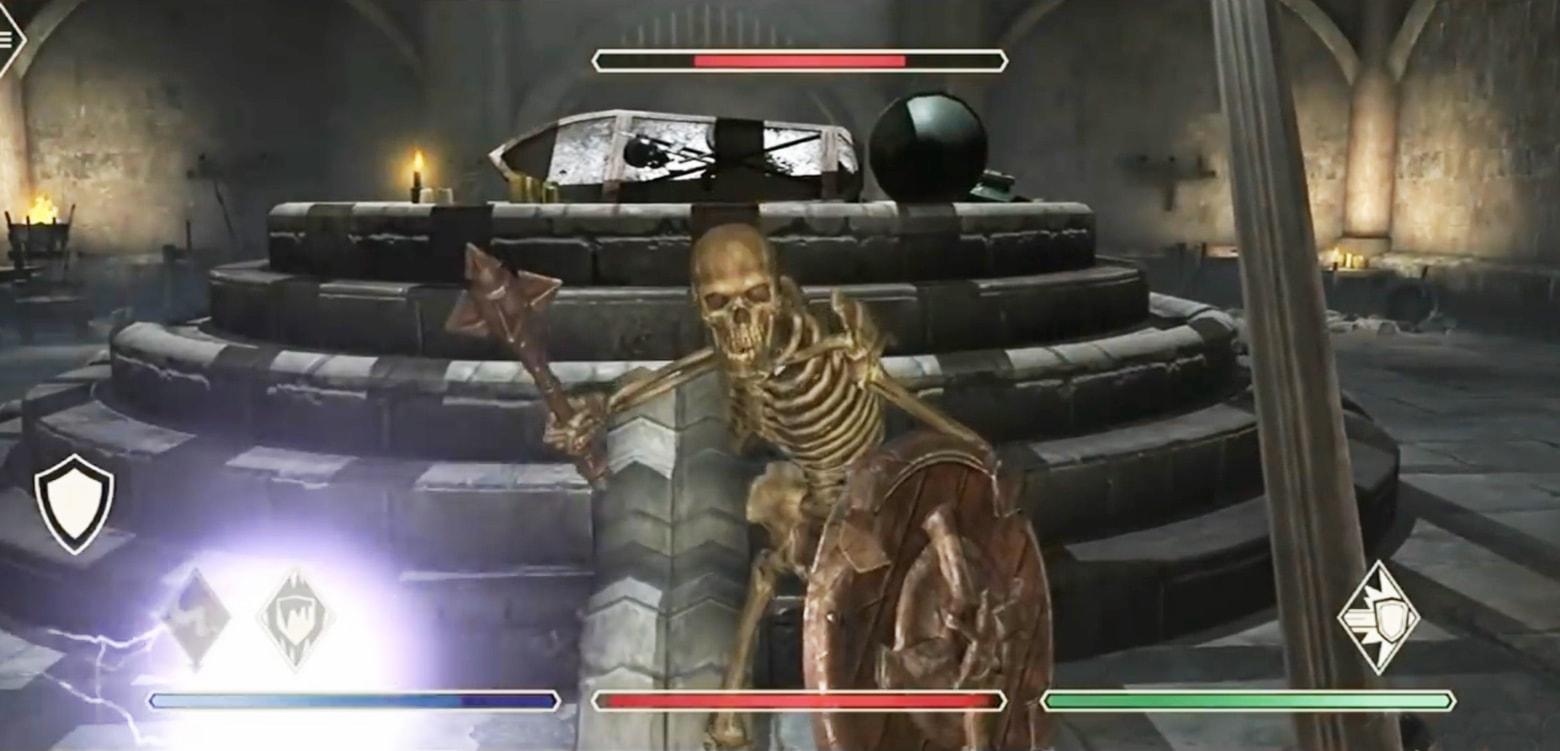 The Elder Scrolls: Blades promises top-tier gaming on iOS.