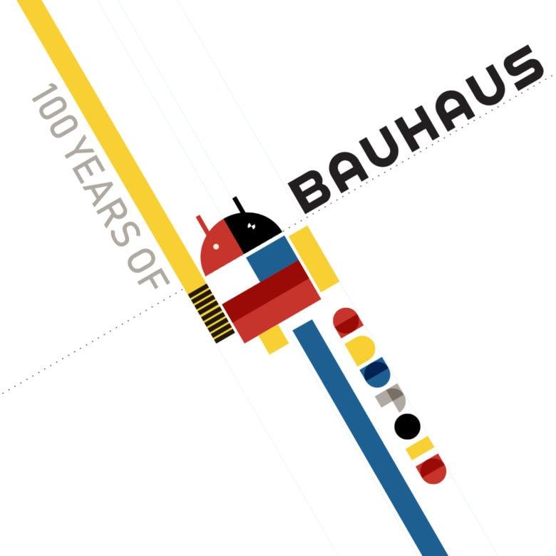 Bauhaus Apple logo