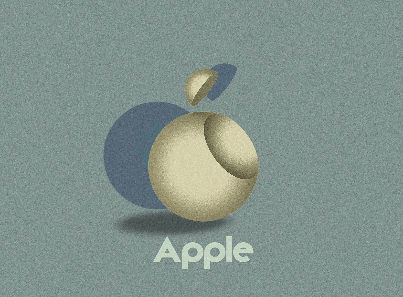 Bauhaus Apple logo