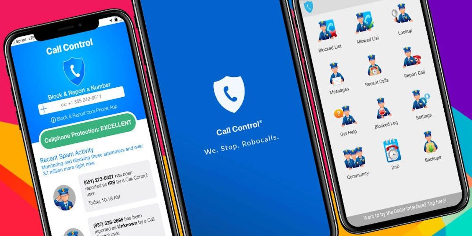 This app uses a community database of spam and scam callers to help keep them from getting through.